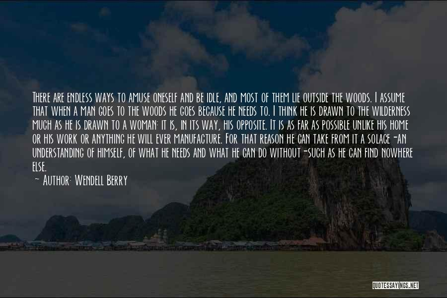 Anything Goes Quotes By Wendell Berry