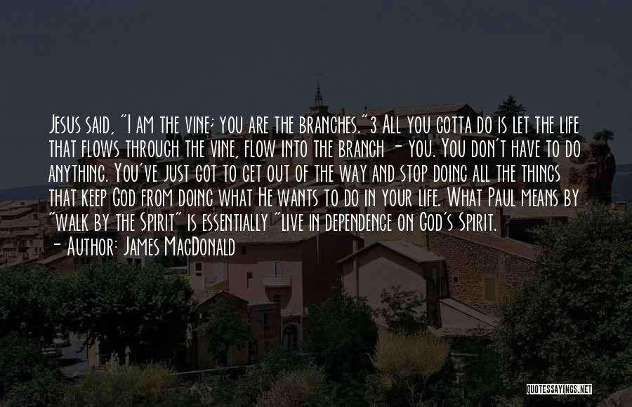 Anything He Wants Quotes By James MacDonald