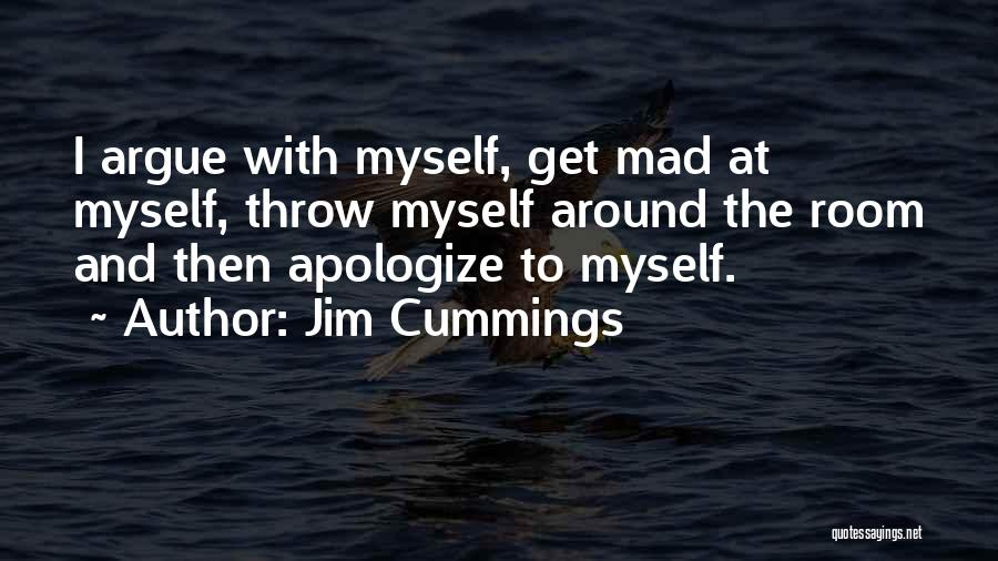 Apologizing For Who You Are Quotes By Jim Cummings