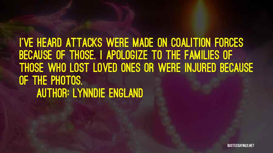 Apologizing For Who You Are Quotes By Lynndie England