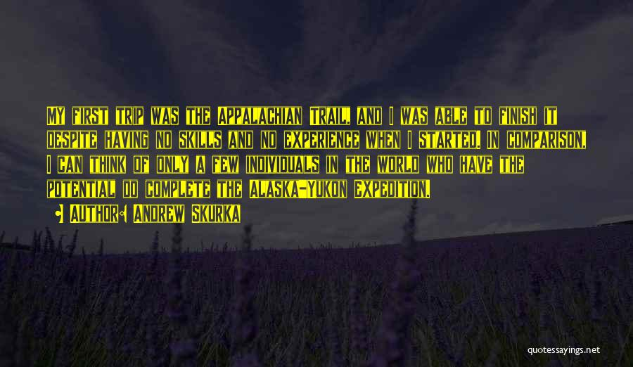Appalachian Quotes By Andrew Skurka