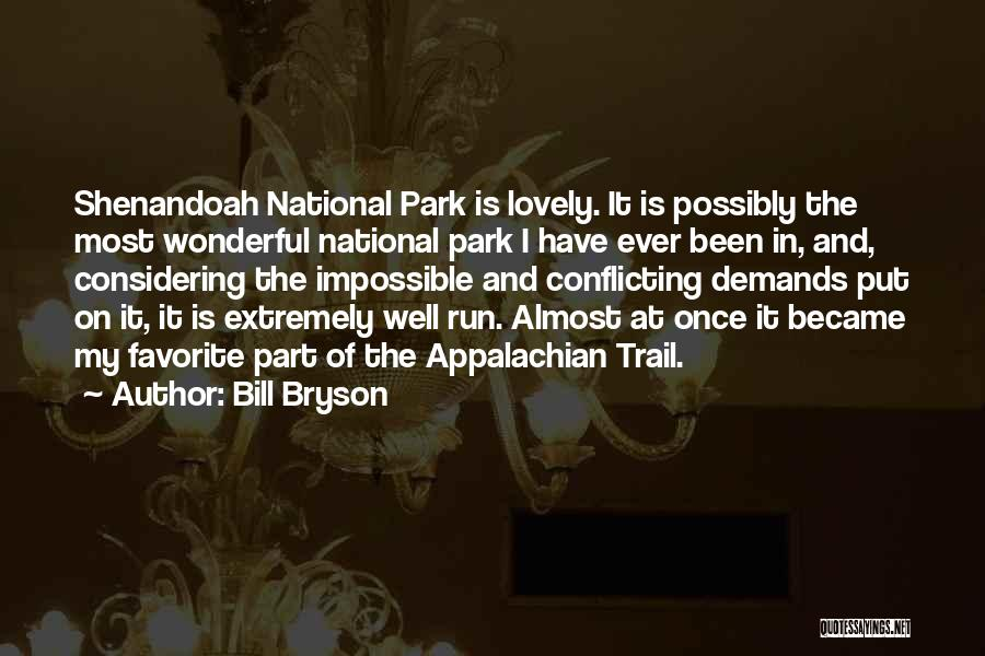 Appalachian Quotes By Bill Bryson