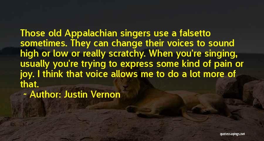 Appalachian Quotes By Justin Vernon