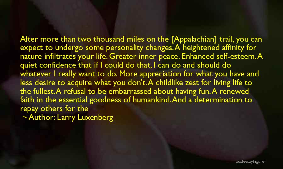 Appalachian Quotes By Larry Luxenberg