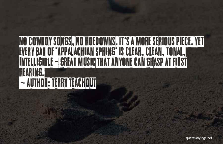 Appalachian Quotes By Terry Teachout