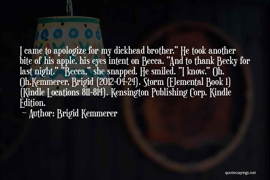 Apple Quotes By Brigid Kemmerer