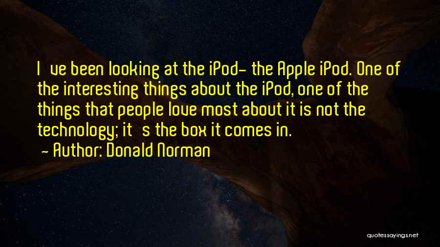 Apple Quotes By Donald Norman