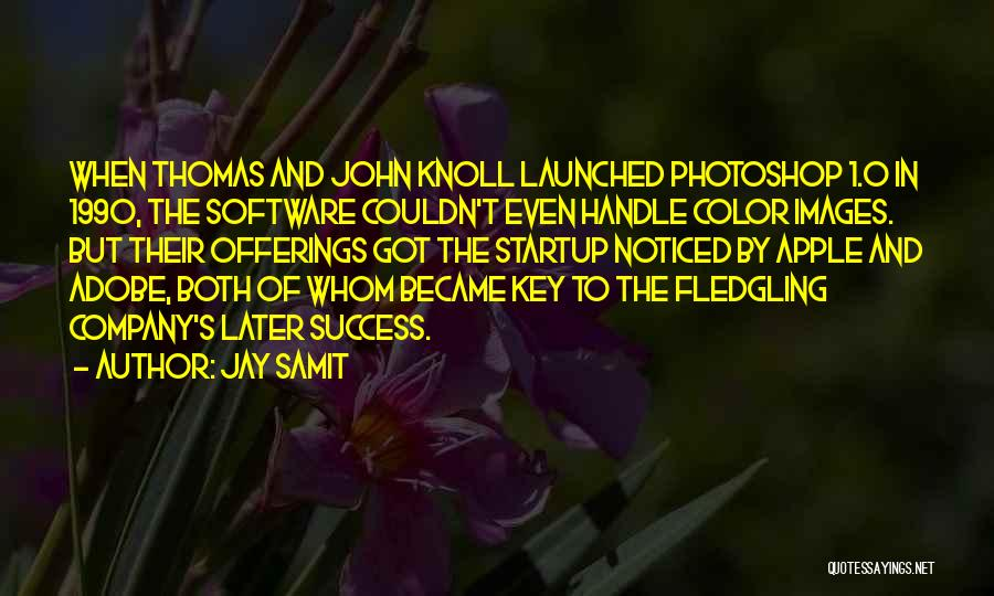 Apple Quotes By Jay Samit