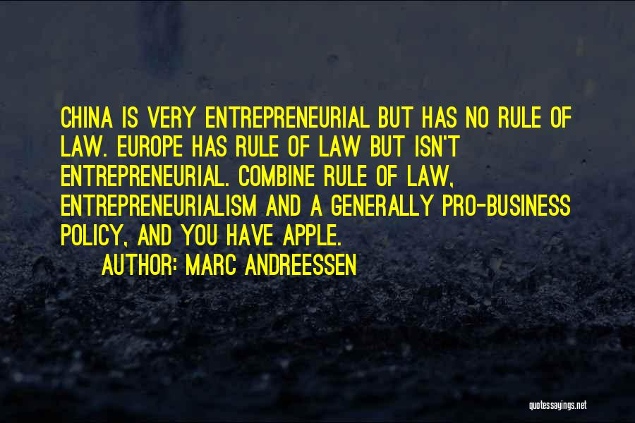 Apple Quotes By Marc Andreessen