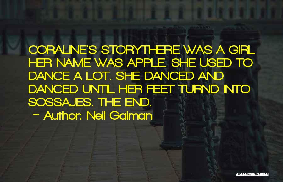 Apple Quotes By Neil Gaiman