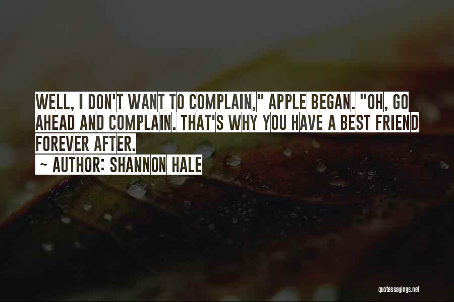 Apple Quotes By Shannon Hale