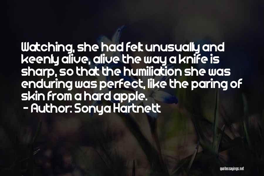 Apple Quotes By Sonya Hartnett