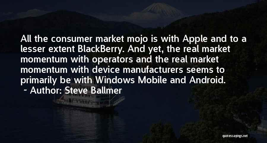 Apple Quotes By Steve Ballmer