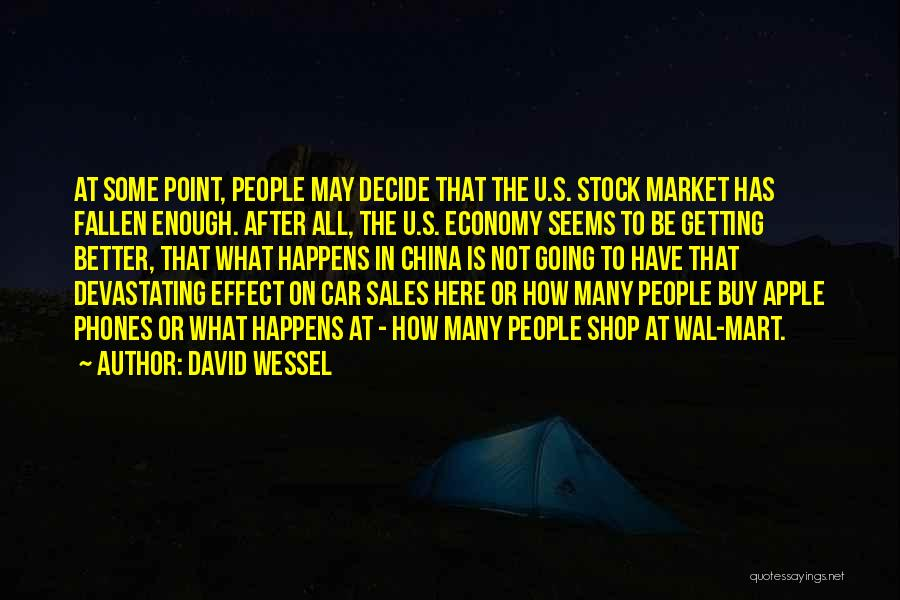 Apple Stock Market Quotes By David Wessel