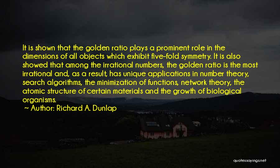 Applications Of Mathematics Quotes By Richard A. Dunlap