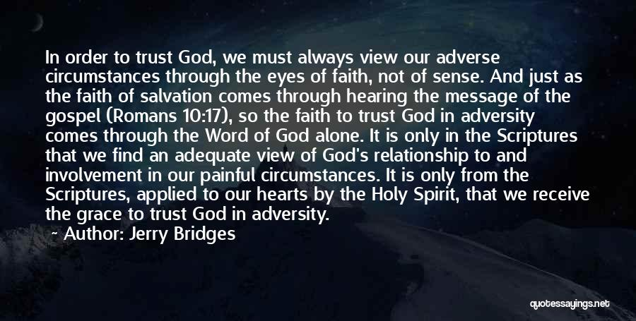 Applied Faith Quotes By Jerry Bridges