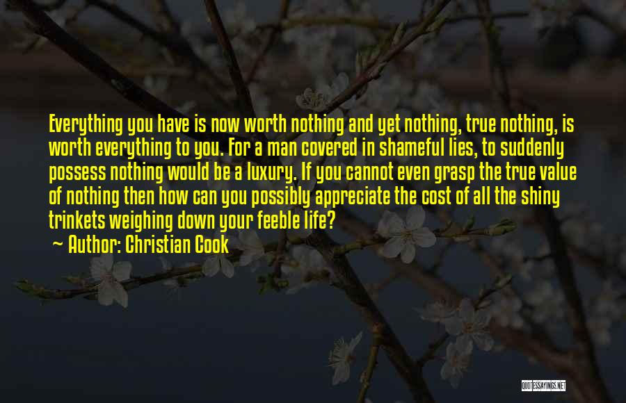 Appreciate All You Have Quotes By Christian Cook