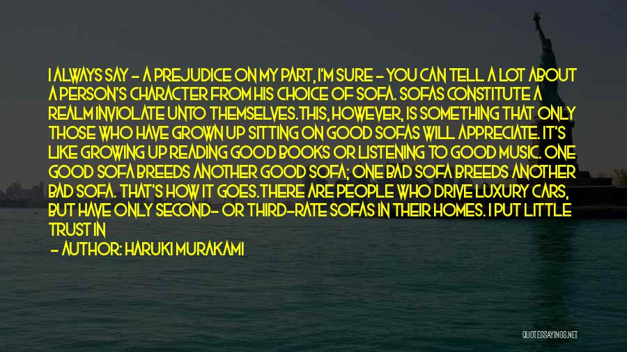 Appreciate One Another Quotes By Haruki Murakami