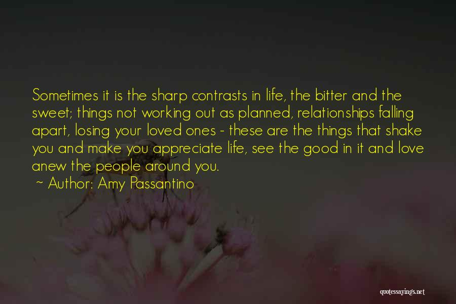 Appreciate Things In Life Quotes By Amy Passantino