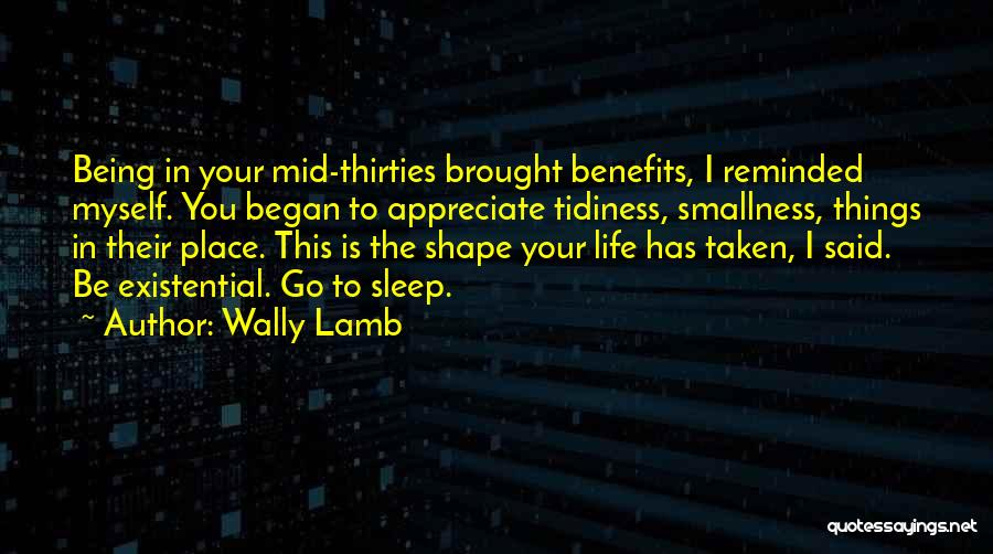 Appreciate Things In Life Quotes By Wally Lamb