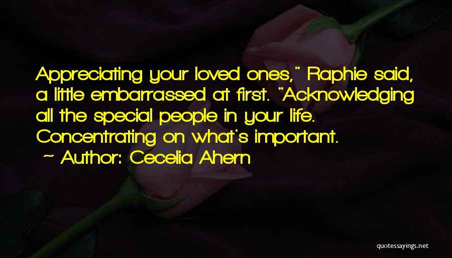 Appreciating My Life Quotes By Cecelia Ahern