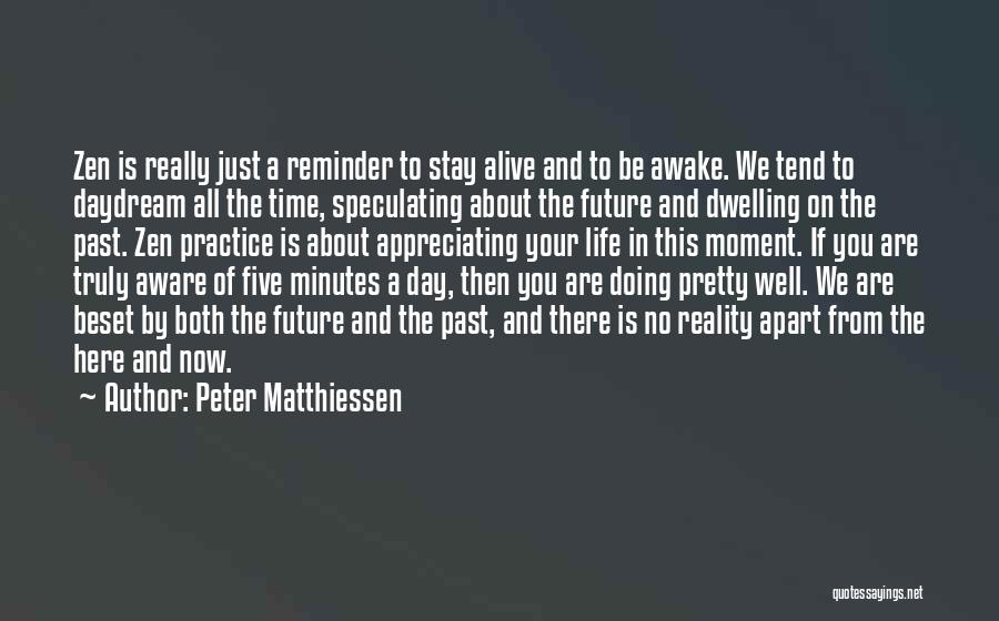 Appreciating My Life Quotes By Peter Matthiessen