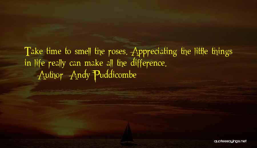 Appreciating What You Have Quotes By Andy Puddicombe