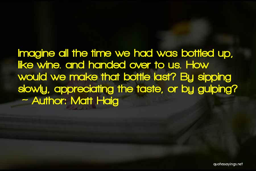 Appreciating What You Have Quotes By Matt Haig