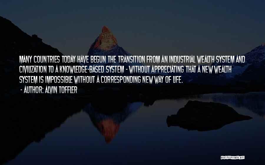 Appreciating Your Life Quotes By Alvin Toffler