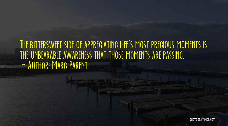 Appreciating Your Life Quotes By Marc Parent