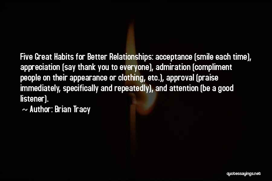 Appreciation And Thank You Quotes By Brian Tracy