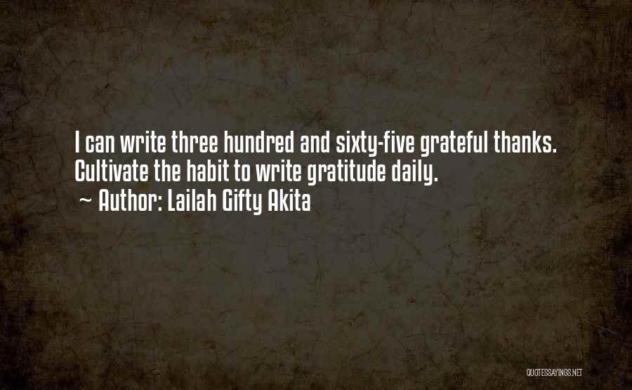 Appreciation And Thank You Quotes By Lailah Gifty Akita