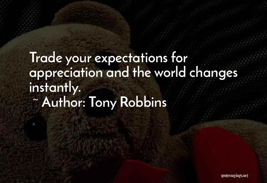 Appreciation And Thank You Quotes By Tony Robbins
