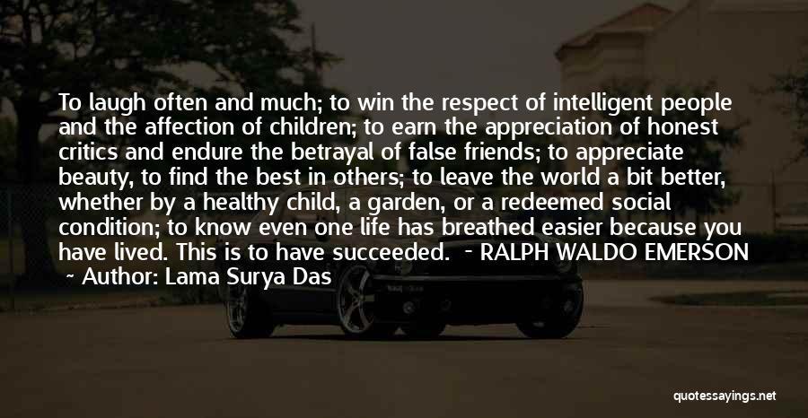 Appreciation For Friends Quotes By Lama Surya Das