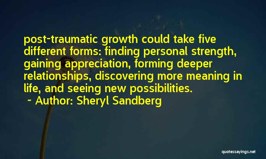 Appreciation Post Quotes By Sheryl Sandberg