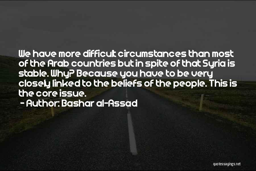 Arab Countries Quotes By Bashar Al-Assad