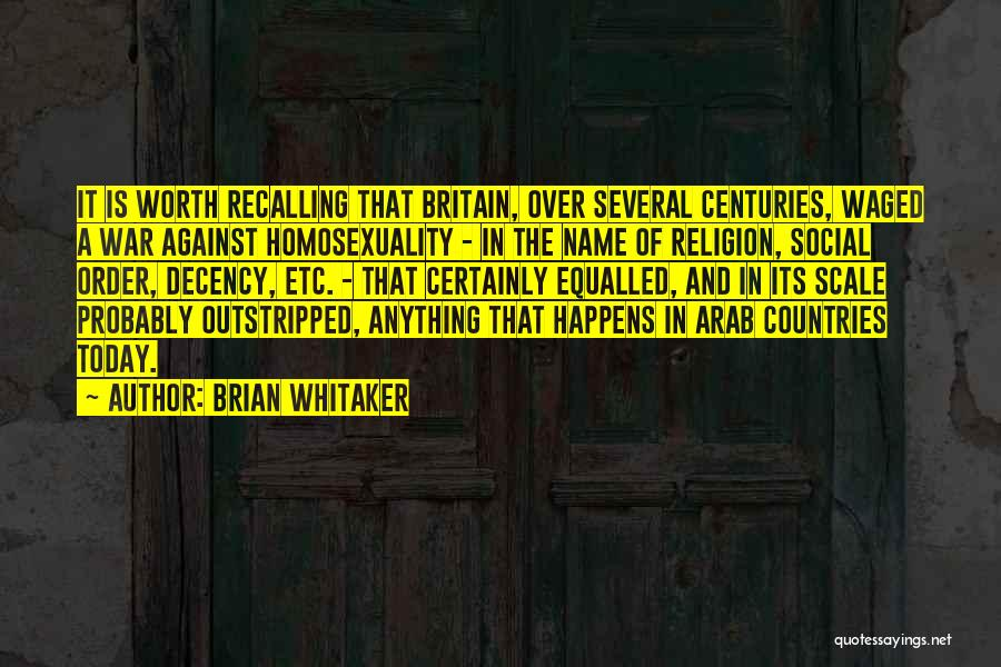Arab Countries Quotes By Brian Whitaker