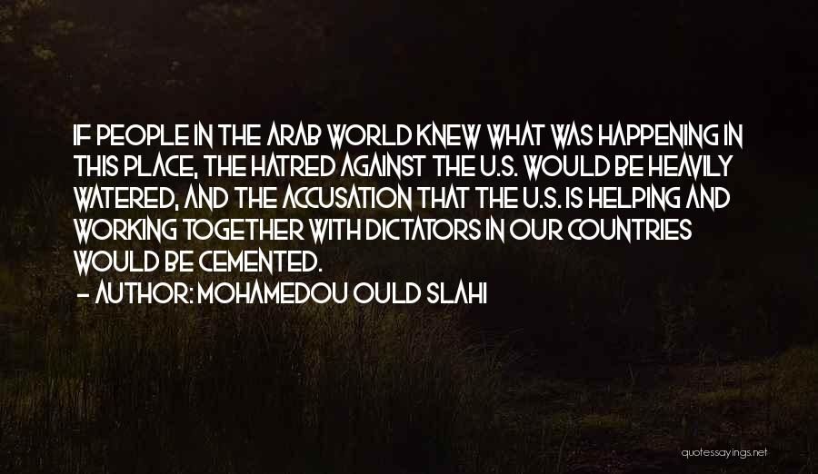 Arab Countries Quotes By Mohamedou Ould Slahi