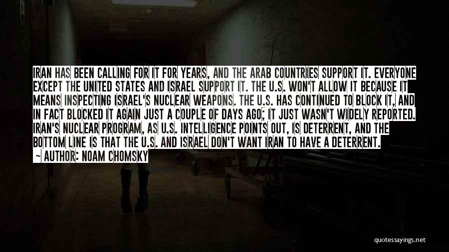 Arab Countries Quotes By Noam Chomsky