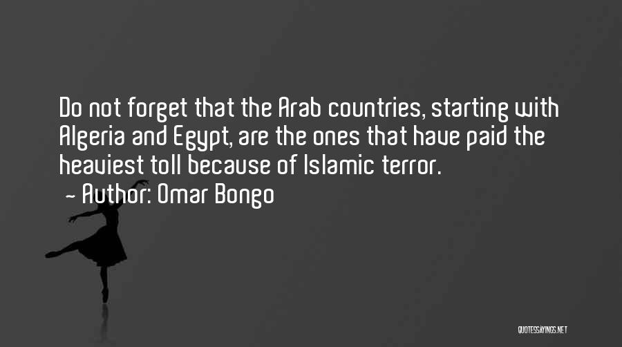 Arab Countries Quotes By Omar Bongo