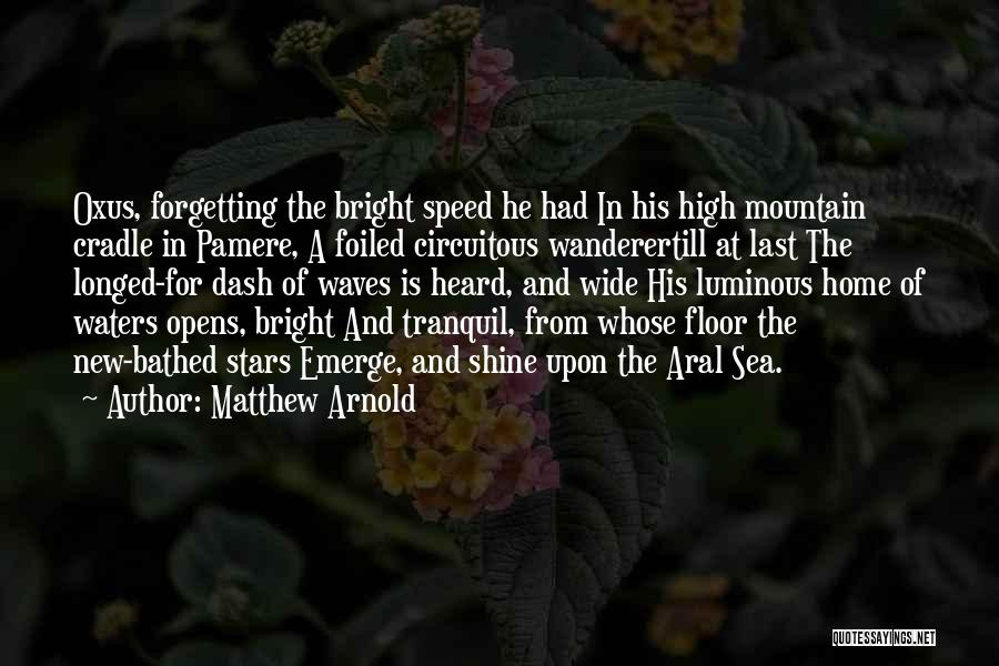 Aral Sea Quotes By Matthew Arnold