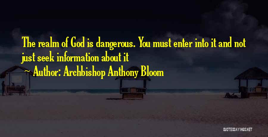 Archbishop Anthony Bloom Quotes 2212602
