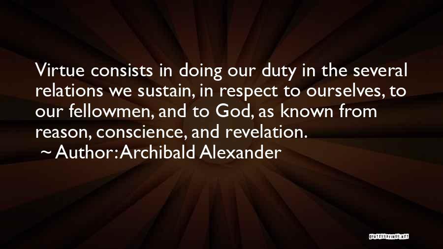 Archibald Alexander Quotes 1489155