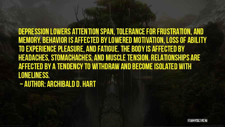 Archibald D. Hart Quotes 430850
