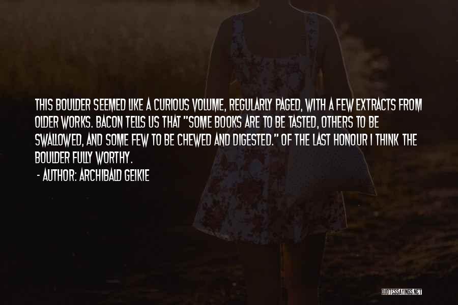 Archibald Geikie Quotes 2040831