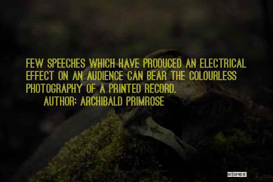 Archibald Primrose Quotes 1552737