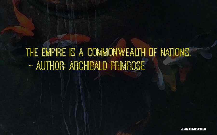 Archibald Primrose Quotes 950523