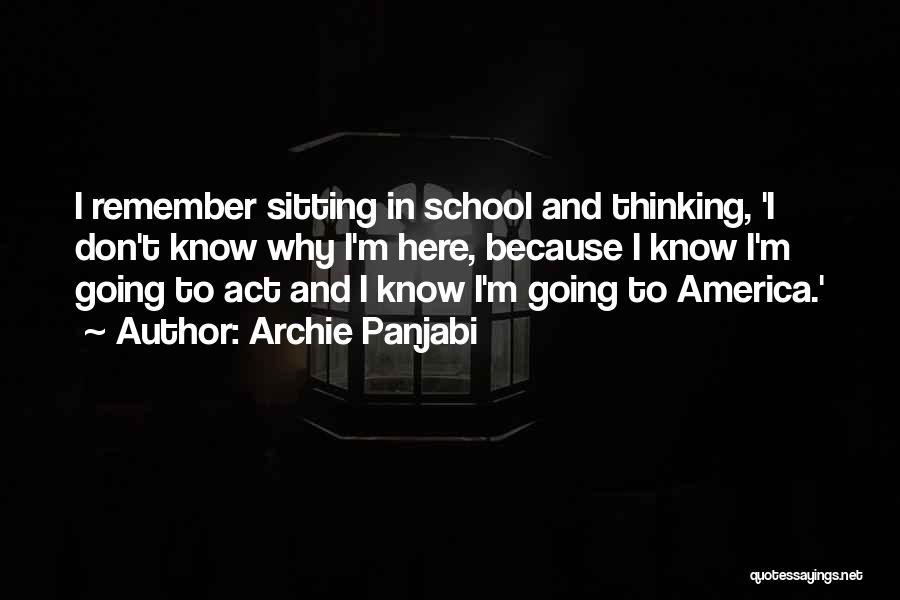 Archie Panjabi Quotes 1348237