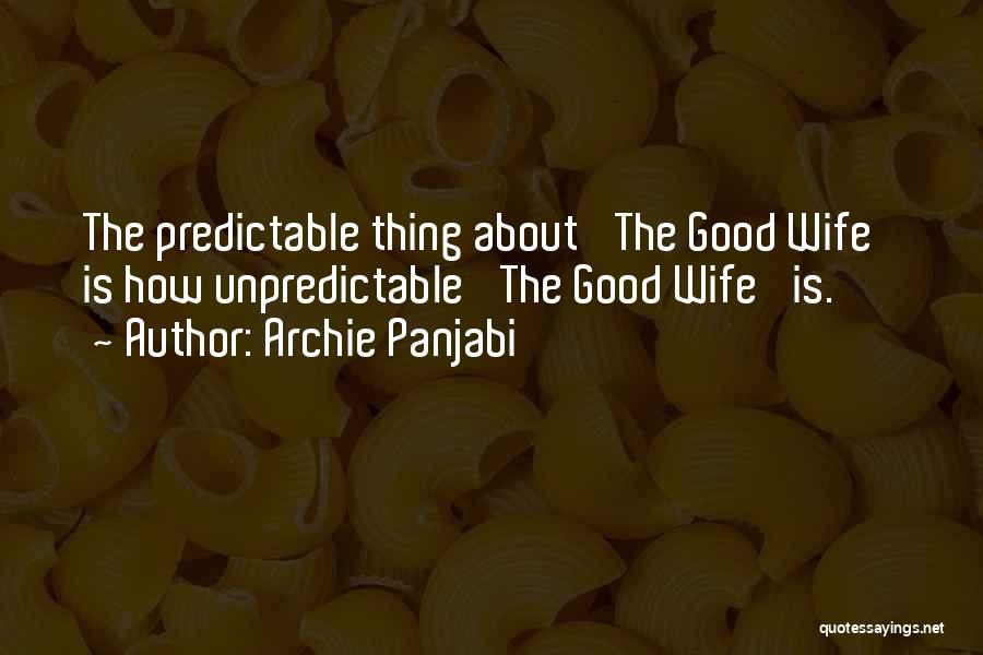 Archie Panjabi Quotes 718493