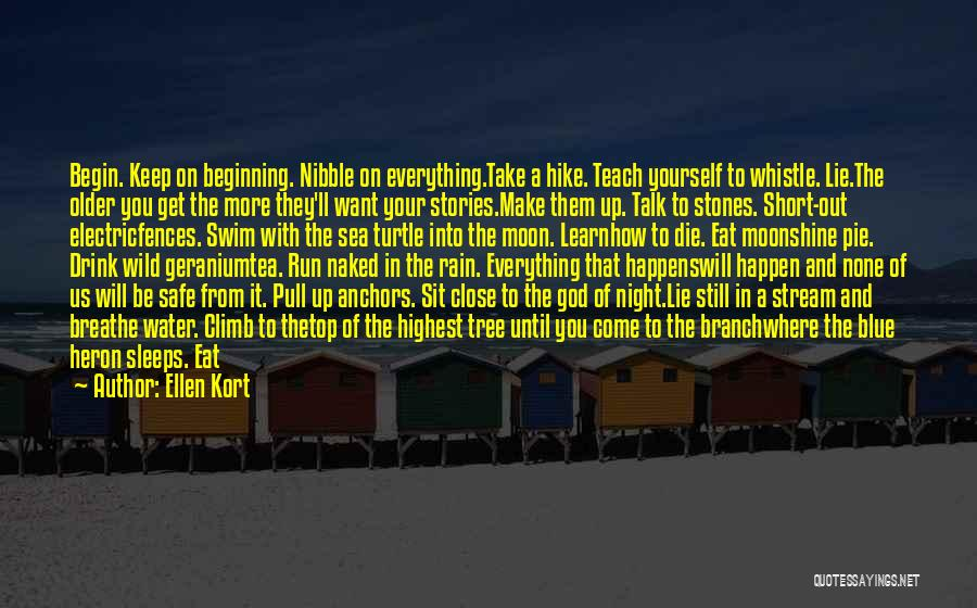 Are Short Stories Put In Quotes By Ellen Kort
